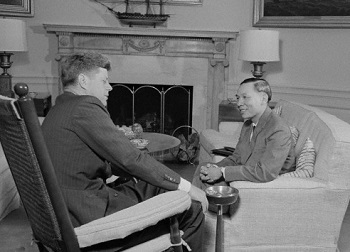 John Kennedy with Nguyyan Dinh Thuan