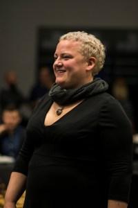 Kristine Sevik fra IKT-senteret var tilstede på kick-offen