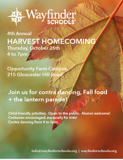 Harvest Homecoming poster PNG