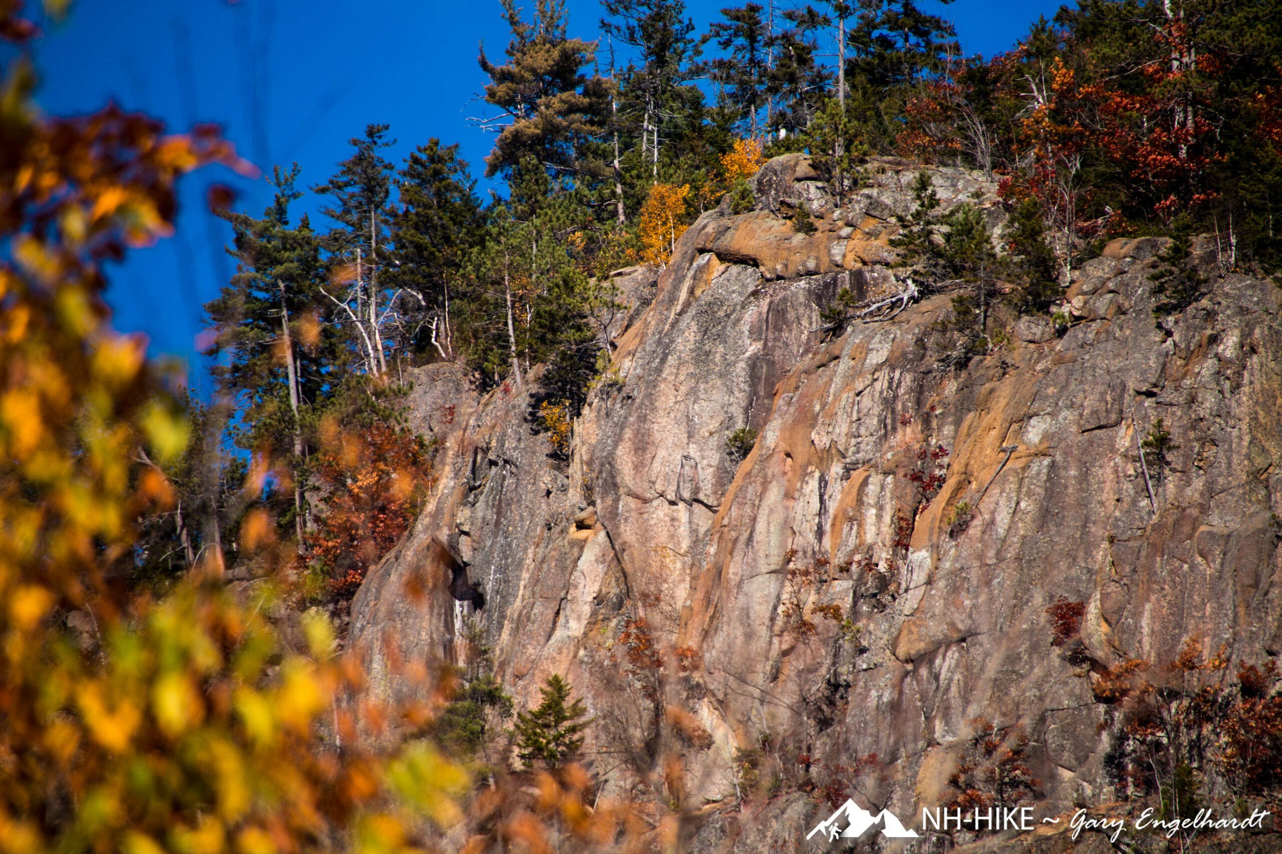 Frankenstein Cliff and Arethusa Falls 1