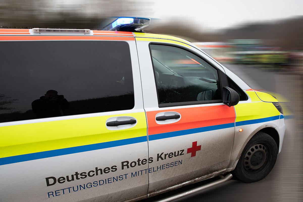 Mittelhessen De Unfall