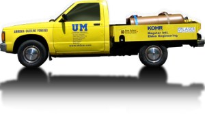 NH3 Fuel Truck, USA