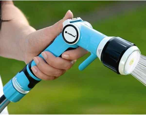 Bộ vòi tưới tay gạt nhiều chế độ Cellfast Ergo