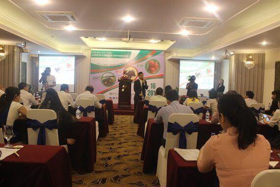 Trien lam quoc te Agriculture hub - Vietnam 2018