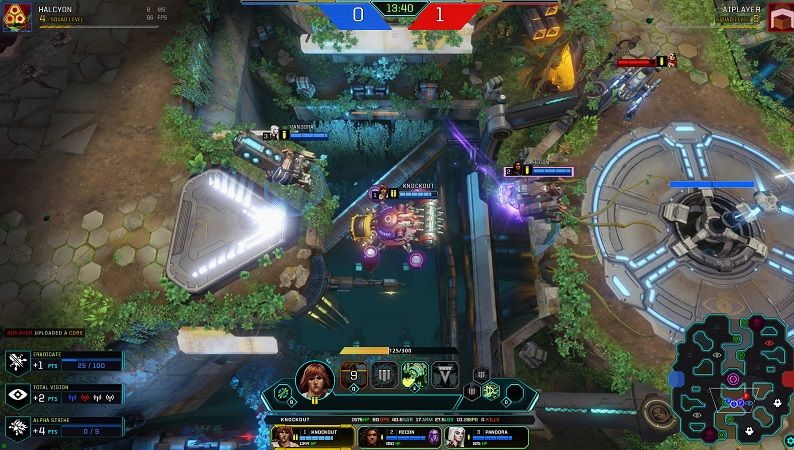 Game moba Dropzone