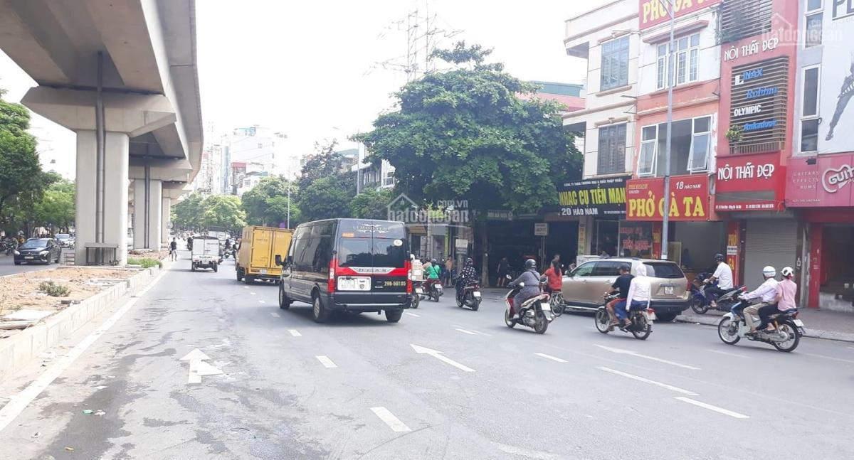 Bán nhà mặt phố Hào Nam