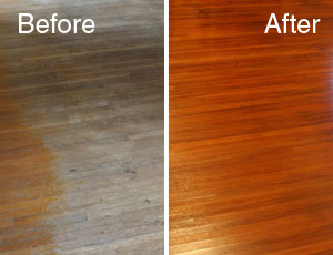 Hammered Floor Renewal