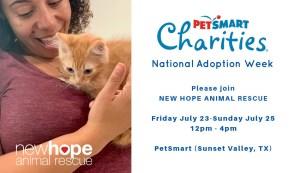 PetSmart Charities National Adoption Week