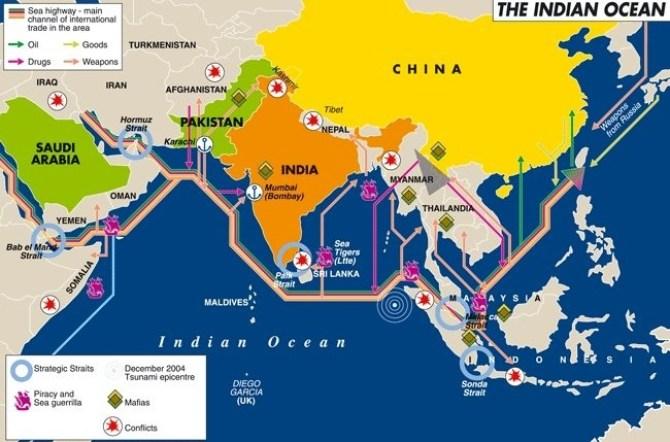 Image result for Chiến Lược Ấn Độ Dương - Thái Bình Dương