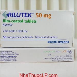 Thuốc Rilutek 50mg Riluzole điều trị bệnh xơ cứng teo cơ bên (ALS) (1)