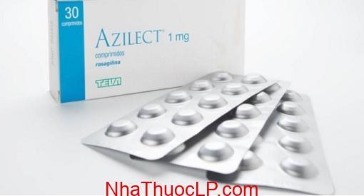 Thuoc Azilect 1mg Rasagiline dieu tri benh Parkinson