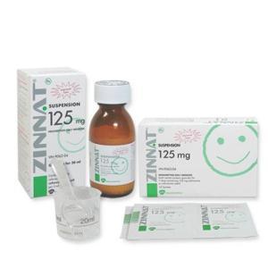 Thuốc Zinnat 125mg/5ml 50ml