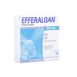 Thuốc giảm đau hạ sốt efferalgan 500mg