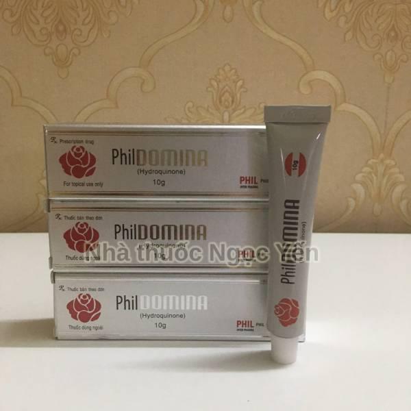 PhilDomina (Hydroquinone)- Kem trị nám, tàn nhang hiệu quả, giá rẻ