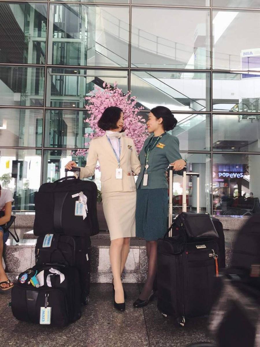 kinh nghiệm thi tiếp viên hàng không