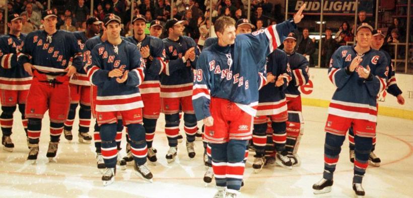 Wayne Gretzky em sua última partida