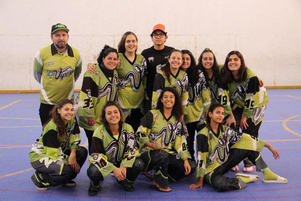 Equipe mineira Eldorado Vipers é a terceira colocada no campeonato brasileiro de hockey inline feminino