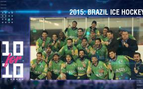 História oral: Seleção brasileira recebe primeira medalha no hockey no gelo