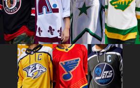 Camisas Reverse Retro da Divisão Central