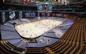 Arena sem torcedores para a temporada 2020-21 da NHL