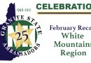 25th Anniversary February Recap – 'White Mountains' month