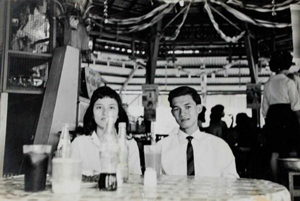 Bà Sinh cùng ông Ngụy Văn Thà lúc mới quen nhau