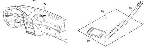 Thông tin viết trên giấy sẽ được bút chuyển sang các thiết bị như smartphone.