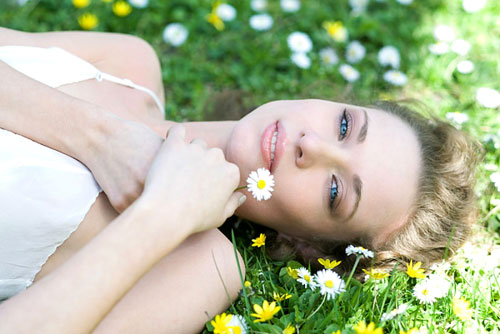 hoa cúc giúp làm sạch da hiệu quả