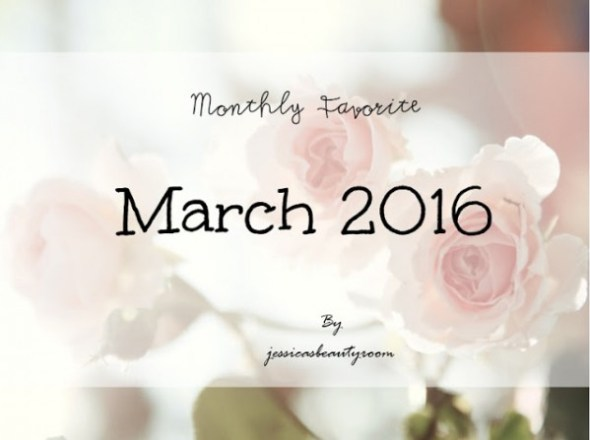 Những sản phẩm mỹ phẩm yêu thích nhất tháng 3
