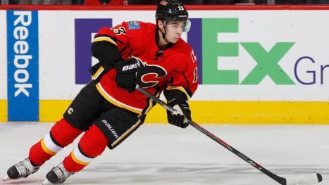 Calgary Flames forward Johnny Gaudreau