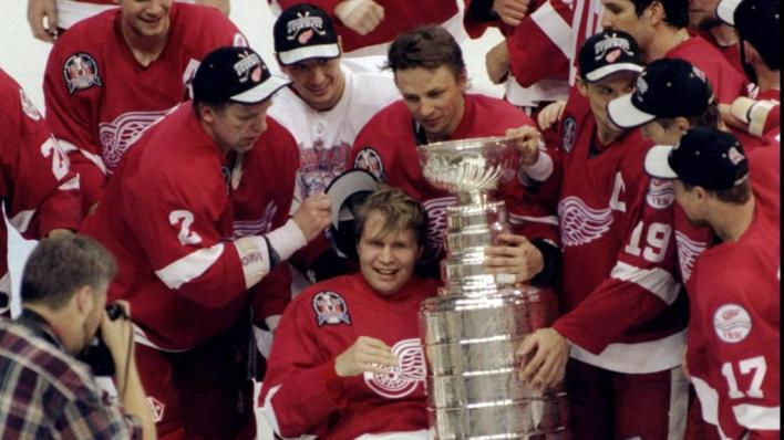 Image result for red wings 1990