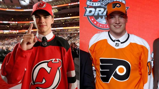 Image result for nico hischier and nolan patrick