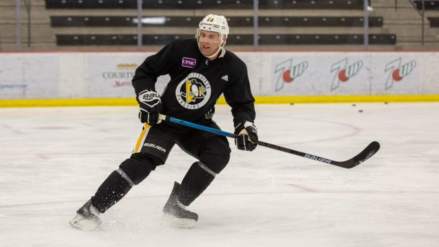 Johnson eager to get started with Pens