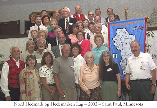 Nord Hedmark og Hedemarken Lag 2002 Saint Paul Minnesota