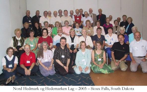 Nord Hedmark og Hedemarken Lag 2003 Sioux Falls South Dakota