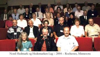Nord Hedmark og Hedemarken Lag 2004 Rochester Minnesota
