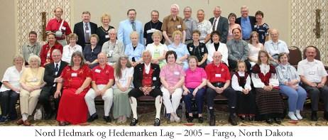 Nord Hedmark og Hedemarken Lag 2005 Fargo North Dakota