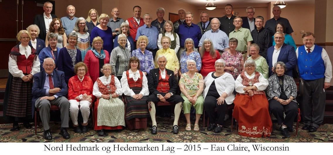 Nord Hedmark og Hedemarken Lag 2015 Eau Claire Wisconsin