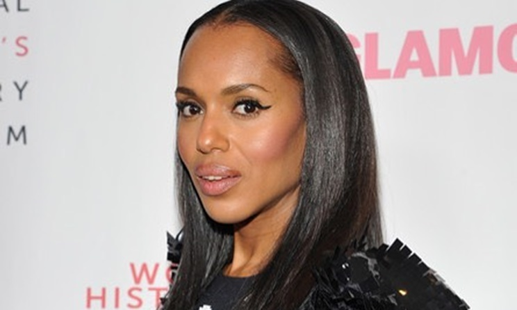Kerry Washington Real Hair Allure