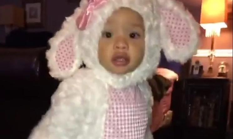 Baby Heiress Harris T.I. And Tiny Halloween Costume