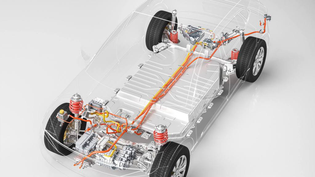 EV Xray Powertrain Front Side - NH Research (NHR)