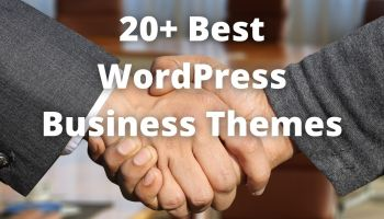 20+ Best WordPress business themes
