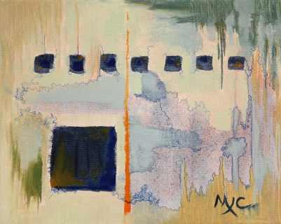 "Art Club, acrylic on canvas, 8""x10"", 2016"