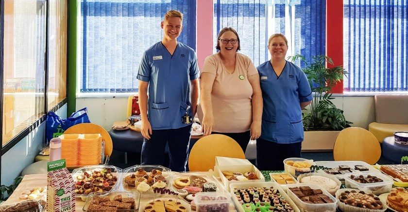 MAIN Staff raise funds over coffee and cake - ICT