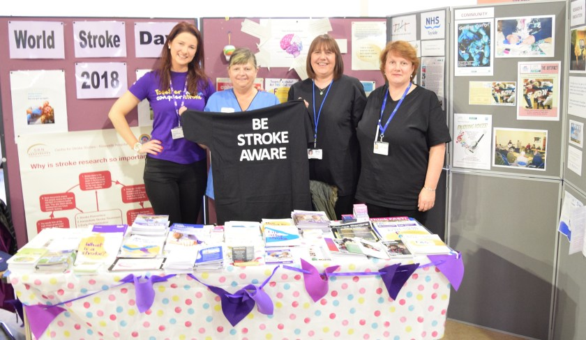MAIN - NHS Tayside supports World Stroke Day