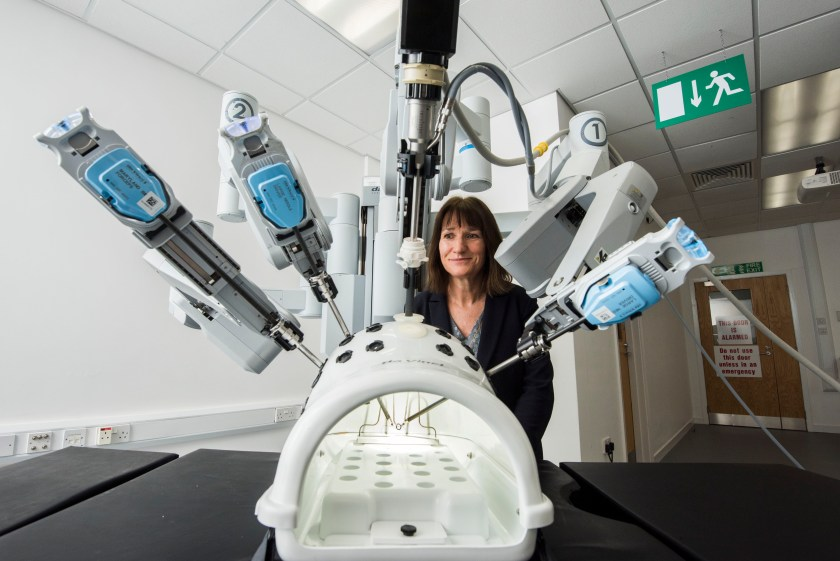 MAIN Surgical robot signals new age of medical training in Scotland.jpg