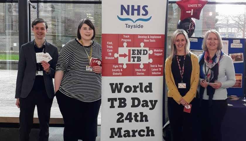 NHS Tayside supported World Tuberculosis Day (1)