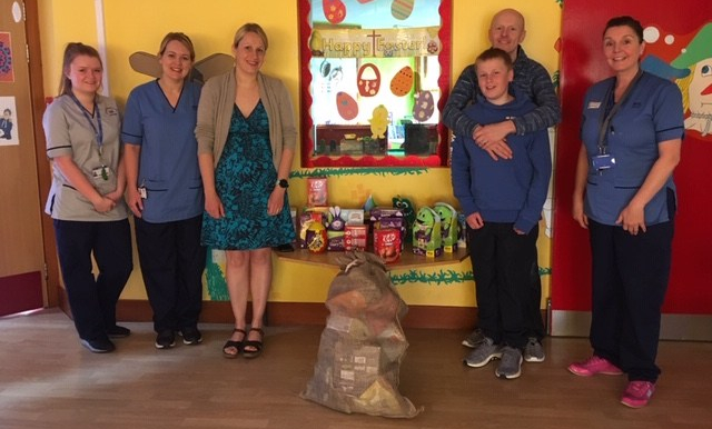 MAIN Check it Out - Easter donation for children's ward