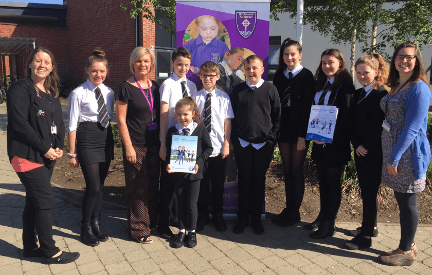 MAIN Tayside schools supporting a tobacco-free future - St John's Academy