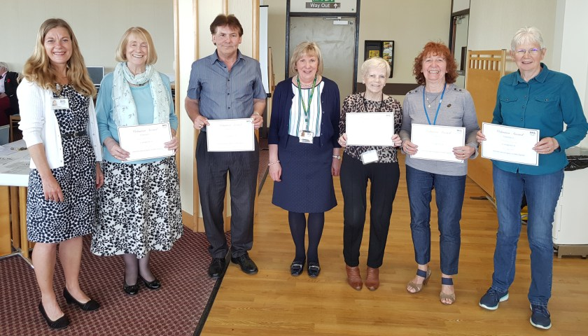 MAIN Celebrating volunteering in NHS Tayside (2)